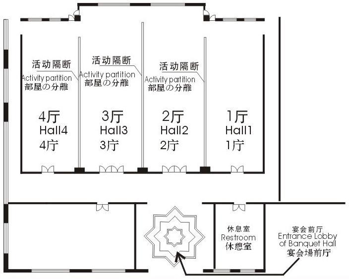 四季厅平面图